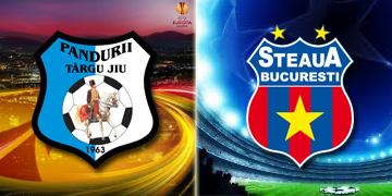 Pandurii si Steaua, un singur punct in primele doua etape ale grupelor europene