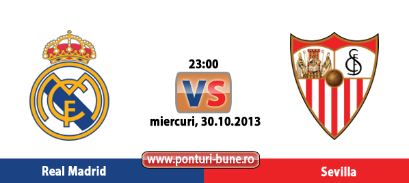 Real Madrid vs Sevilla – Primera Division – Analiza si pronostic