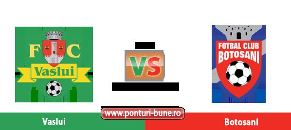 Vaslui vs Botosani – Cupa Romaniei – Analiza si pronostic