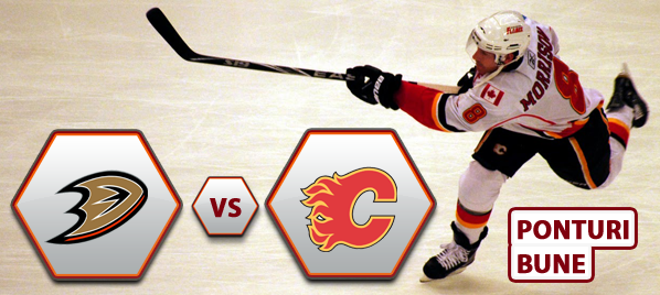 Anaheim Ducks vs Calgary Flames – NHL – Analiza si pronostic
