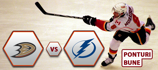 Anaheim Ducks vs Tampa Bay Lightning – NHL – Analiza si pronostic