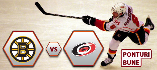 Boston Bruins vs Carolina Hurricanes – NHL – Analiza si pronostic