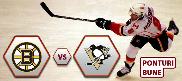 Boston Bruins vs Pittsburgh Penguins – NHL – Analiza si pronostic
