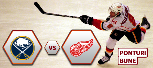 Buffalo Sabres vs Detroit Red Wings – NHL – Analiza si pronostic