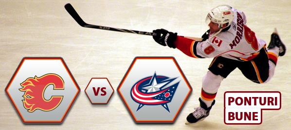 Calgary Flames vs Columbus Blue Jackets – NHL – Analiza si pronostic