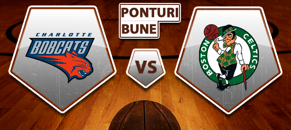 Charlotte Bobcats vs Boston Celtics – NBA – Analiza si pronostic