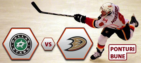 Dallas Stars vs Anaheim Ducks – NHL – Analiza si pronostic