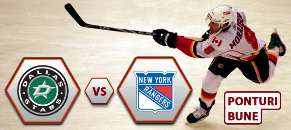 Dallas Stars vs New York Rangers – NHL – Analiza si pronostic