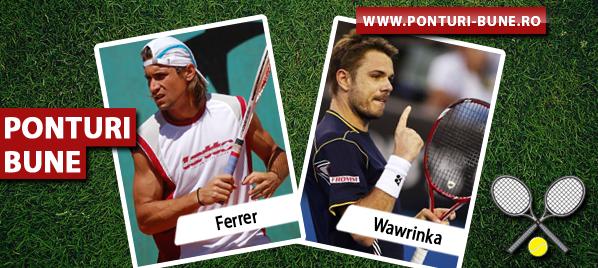 David Ferrer vs Stanislas Wawrinka – Turneul Campionilor – Analiza si pronostic