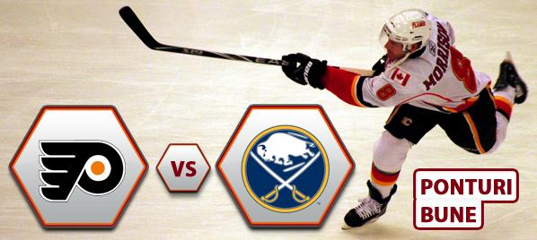 Philadelphia Flyers vs Buffalo Sabres – NHL – Analiza si pronostic