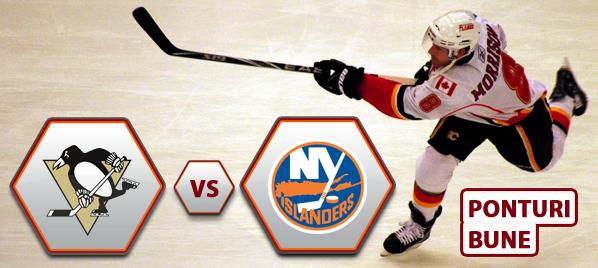 Pittsburgh Penguins vs New York Islanders – NHL – Analiza si pronostic