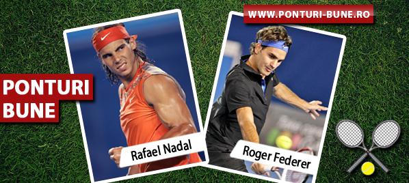 Rafael Nadal vs Roger Federer – Turneul Campionilor – Analiza si pronostic
