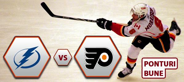 Tampa Bay Lightning vs Philadelphia Flyers – NHL – Analiza si pronostic