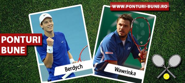 Tomas Berdych vs Stanislas Wawrinka – Turneul Campionilor – Analiza si pronostic