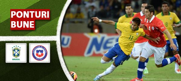 Brazilia vs Chile – Amical – Analiza si pronostic