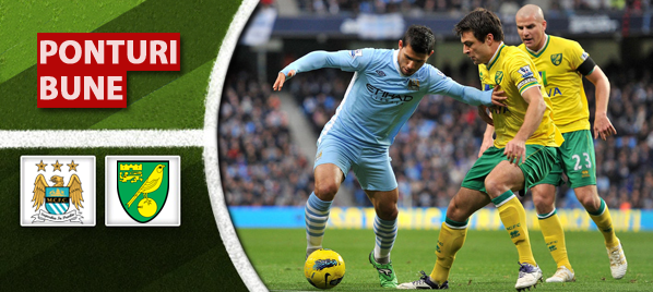 Manchester City vs Norwich – Premier League – Analiza si pronostic