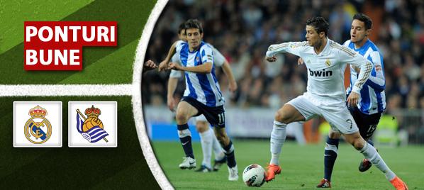 Real Madrid vs Real Sociedad – Primera Division – Analiza si pronostic