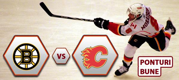 Boston Bruins vs Calgary Flames – NHL – Analiza si pronostic