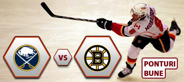 Buffalo Sabres vs Boston Bruins – NHL – Analiza si pronostic