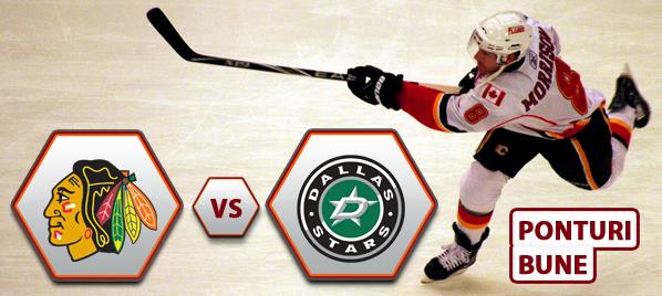 Chicago Blackhawks vs Dallas Stars – NHL – Analiza si pronostic