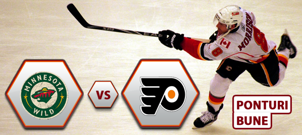 Minnesota Wild vs Philadelphia Flyers – NHL – Analiza si pronostic
