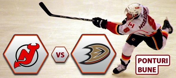 New Jersey Devils vs Anaheim Ducks – NHL – Analiza si pronostic