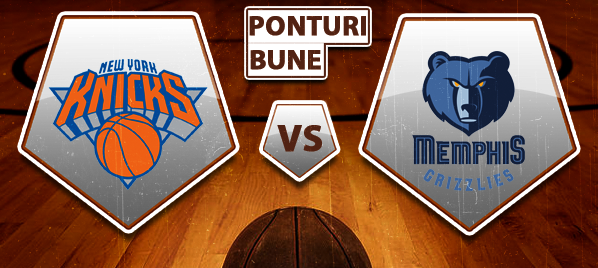 New York Knicks vs Memphis Grizzlies – NBA – Analiza si pronostic