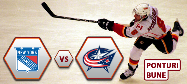 New York Rangers vs Columbus Blue Jackets – NHL – Analiza si pronostic