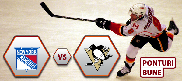 New York Rangers vs Pittsburgh Penguins – NHL – Analiza si pronostic
