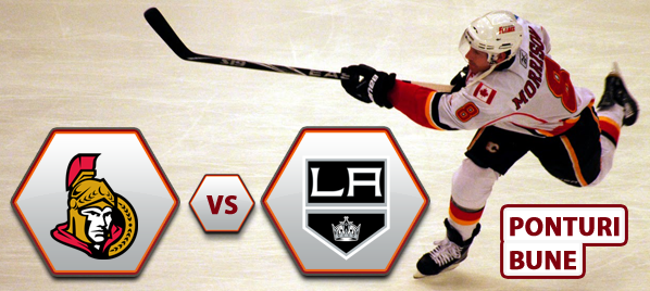 Ottawa Senators vs Los Angeles Kings – NHL – Analiza si pronostic