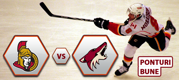 Ottawa Senators vs Phoenix Coyotes – NHL – Analiza si pronostic