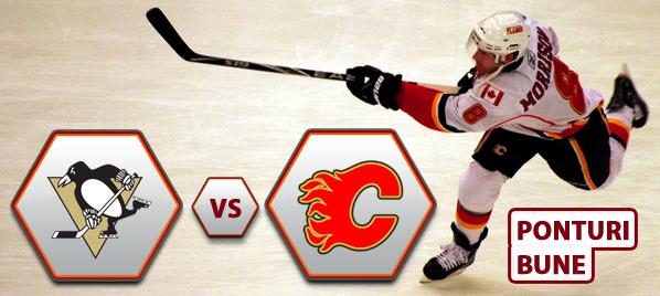Pittsburgh Penguins vs Calgary Flames – NHL – Analiza si pronostic