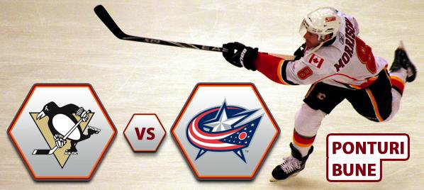 Pittsburgh Penguins vs Columbus Blue Jackets – NHL – Analiza si pronostic