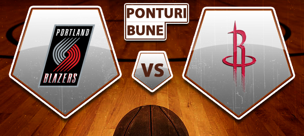 Portland Trail Blazers vs Houston Rockets – NBA – Analiza si pronostic