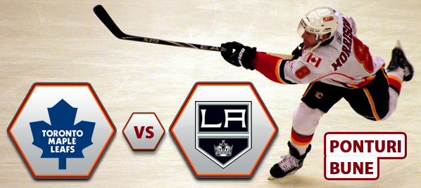 Toronto Maple Leafs vs Los Angeles Kings – NHL – Analiza si pronostic