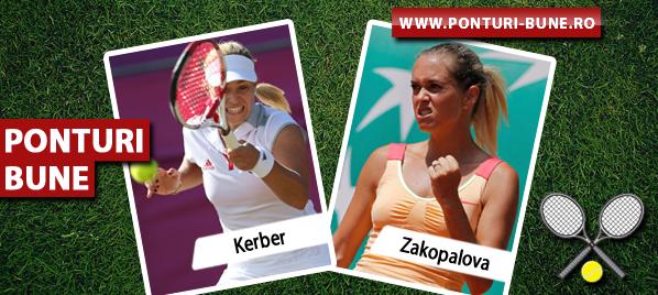 Ponturi tenis – Angelique Kerber vs Klara Zakopalova – WTA Paris – Analiza si pronostic