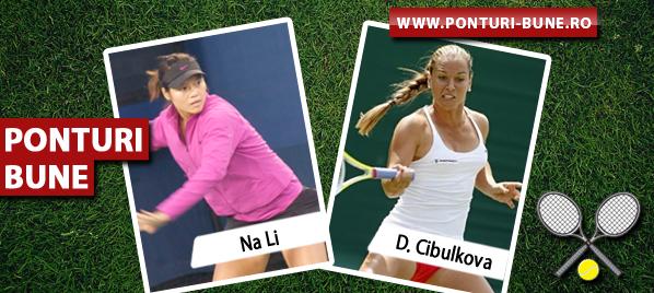 Na Li vs Dominika Cibulkova – Finala WTA Australian Open – Analiza si pronostic