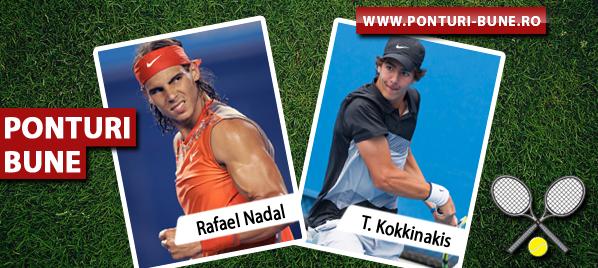 Rafael Nadal vs Thanasi Kokkinakis – ATP Australian Open – Analiza si pronostic