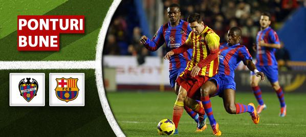 Levante vs Barcelona – Cupa Regelui Spaniei – Analiza si pronostic