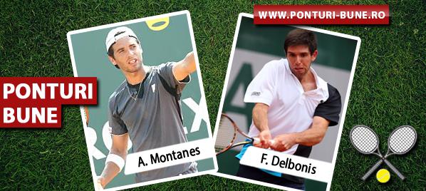 Albert Montanes vs Federico Delbonis – ATP Sao Paulo – Analiza si pronostic