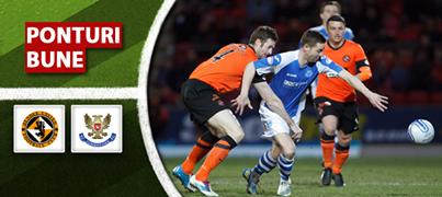 Dundee vs Johnstone – Premiership – Analiza si pronostic