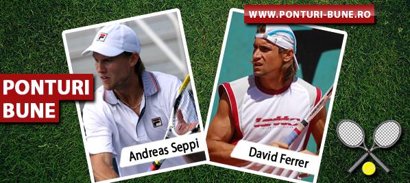 Andreas Seppi vs David Ferrer – ATP Miami – Analiza si pronostic