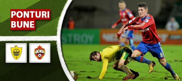 Anzhi vs TSKA Moscova – Premier League – Analiza si pronostic