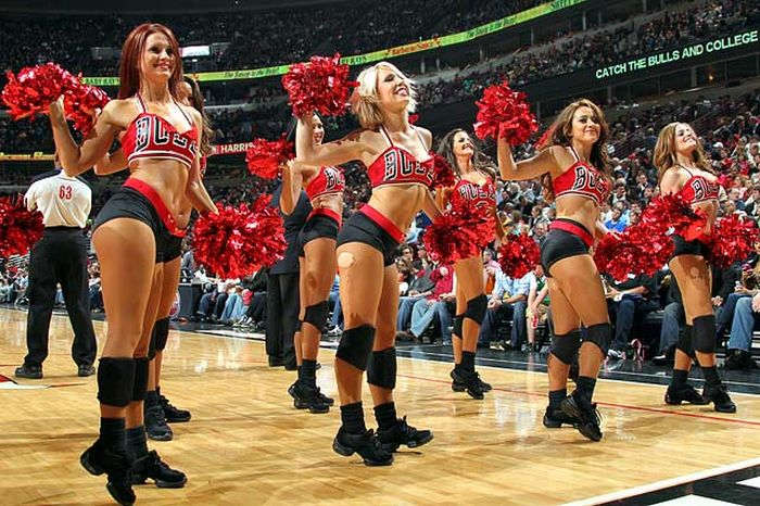 Bulls-Cheerleaders