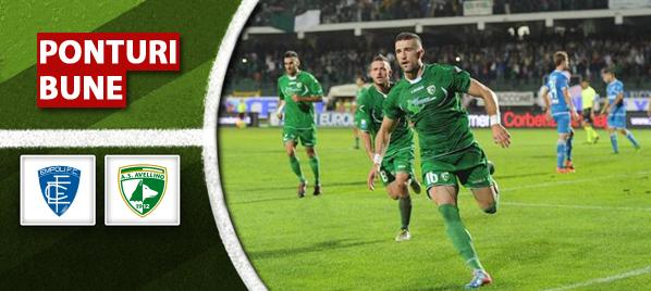 Empoli vs Avellino – Serie B – Analiza si pronostic