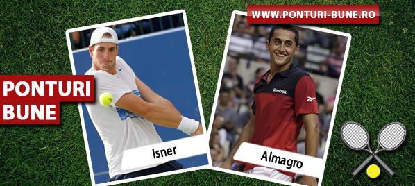 Isner vs Almagro – ATP Miami – Analiza si pronostic