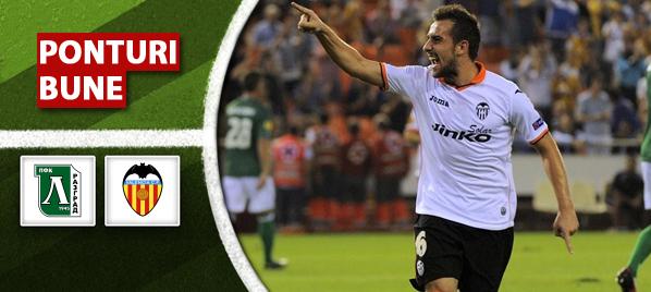 Ludogorets vs Valencia – Europa League – Analiza si pronostic