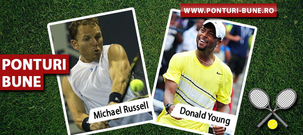 Michael Russell vs Donald Young – ATP Indian Wells – Analiza si pronostic