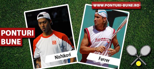 Nishikori vs Ferrer – ATP Miami – Analiza si pronostic