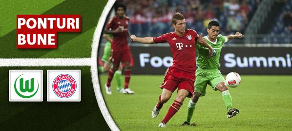 Wolfsburg vs Bayern – Bundesliga – Analiza si pronostic